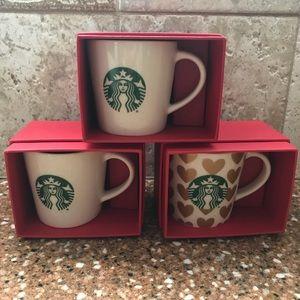 Starbucks espresso cups